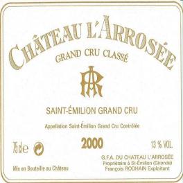 Arrosée 2000 Saint Emilion GCC 75cl