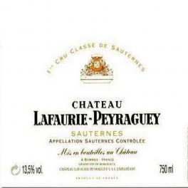 Lafaurie Peyraguey 2001 Sauternes 1er GCC 75cl