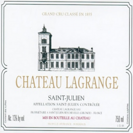 Lagrange 2009 Saint Julien 3ème GCC 75cl