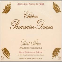 Branaire Ducru 1985 4ème GCC Saint Julien 75cl