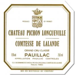 Pichon-Longueville Comtesse de Lalande 2011 AOC Pauillac 2° GCC 75cl