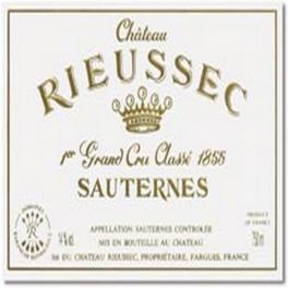Rieussec 1988 Sauternes 1er GCC 75cl