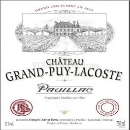 Grand Puy Lacoste 2009 Pauillac 5ème GCC 75cl