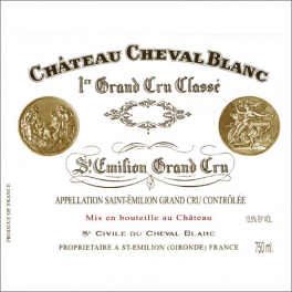 Cheval Blanc 1999 AOC Saint Emilion GCC A
