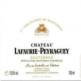 Lafaurie Peyraguey 1950 Sauternes 1er GCC 75cl