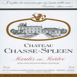 Chasse Spleen 2014 Moulis Cru Bourgeois 75cl