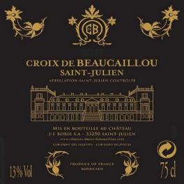 La Croix de Beaucaillou 2015 Saint Julien second vin de Ducru Beaucaillou 75cl