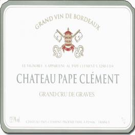 Pape Clement blanc 2019 Pessac Leognan 75cl Primeurs