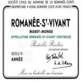 Romanée Saint-Vivant 2013 domaine de la Romanée Conti 75cl
