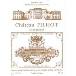 Filhot 1990 Crème de Tête Sauternes 2nd GCC  75cl