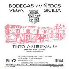 Valbuena 5 años 2009 Ribera del Duero DO 75cl