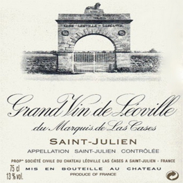 Léoville Las Cases 2002 Saint Julien 2ème GCC 75cl
