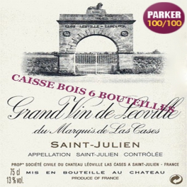 Léoville Las Cases 2000 Saint Julien 2ème GCC 75cl