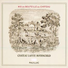 Lafite Rothschild 1996 Pauillac 1er GCC 75cl
